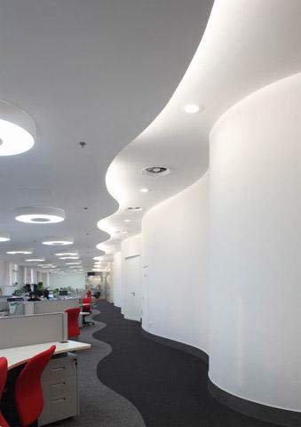 loft辦公區裝修風格案例圖