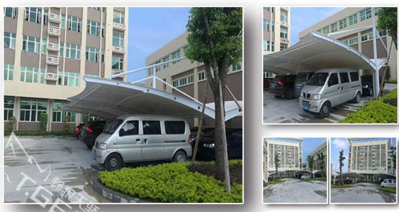 潮州凤泉湖高新区景程薄膜科技车棚